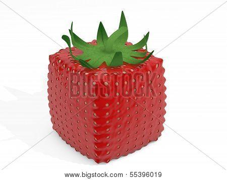 Cube Strawberry