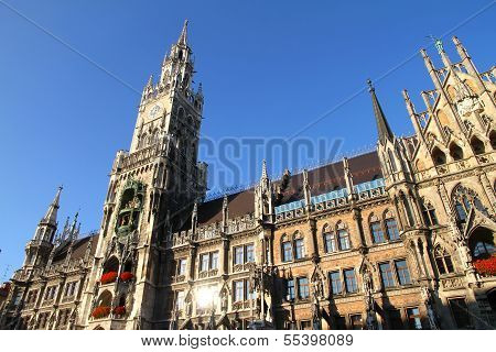 The Rathaus Of Munich
