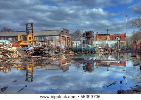 Scrapyard, England