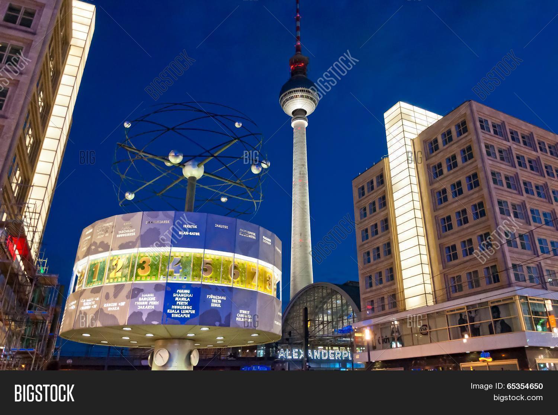 Tv Tower World Clock Image & Photo (Free Trial) | Bigstock
