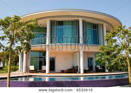 Modern Villa At Turkish Mediterranean Resort, Antalya, Turkey