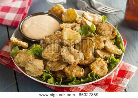 Delicious Battered Fried Pickles