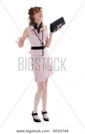 Glamorous Fashionable Woman