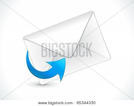 abstract detailed mail web icon vector illustration poster