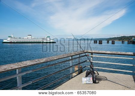 Fishing Pier and Car Ferry