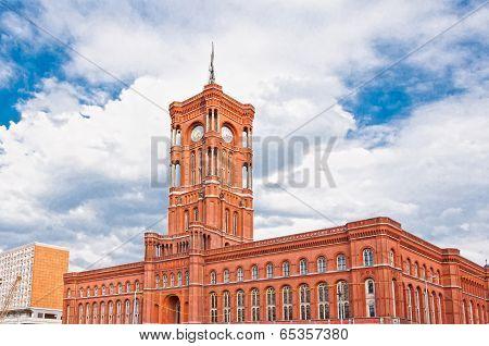 Berlin city hall, (rathaus), Alexanderplatz, Germany