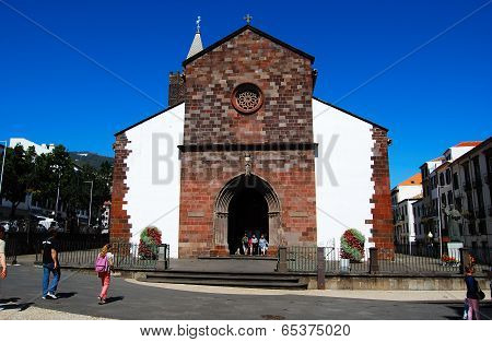 Funchal - April 26, 2014: Se Catedral, Funchal, Madeira