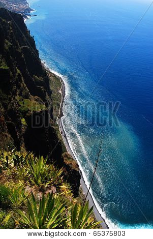 View from Cabo Girao, Madeira