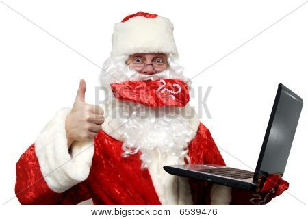 gute Nachrichten aus Santa Claus.