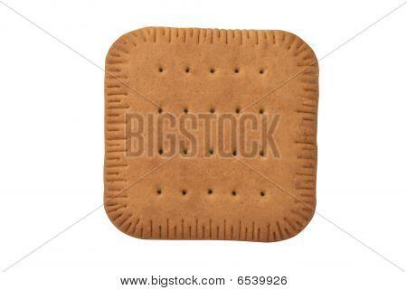 square biscuit cracker
