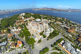 Ayasofya at Old City of Istanbul