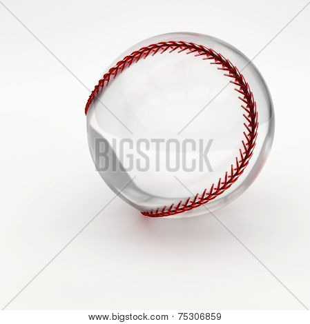 Glass/Crystal Baseball