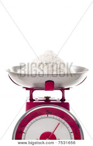 Flour On Scales