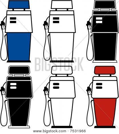 Gas-Pumpen
