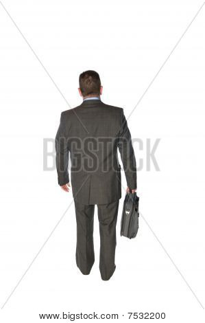 Businessman Walking Away