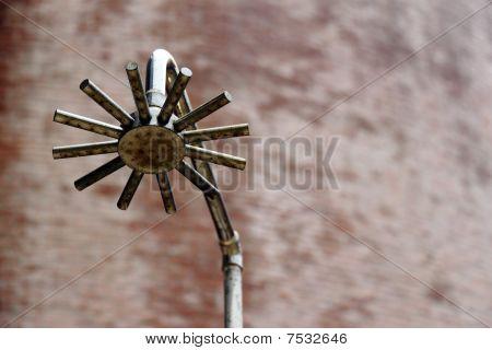 A shower sprinkler