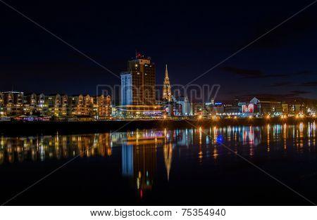 Osijek at Night