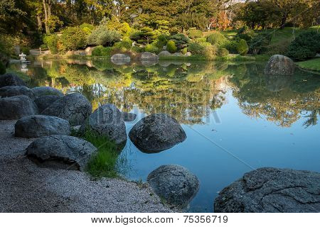 Big Stones In A Pond