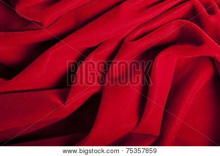 Abstract Red Velvet Background