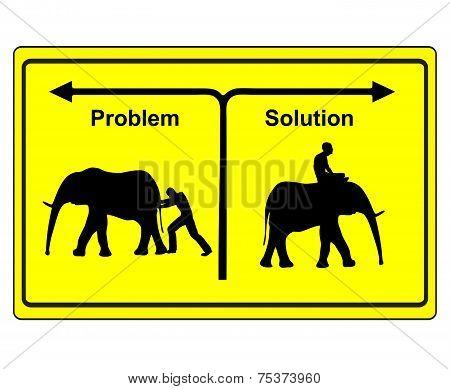 Problem Versus Solution