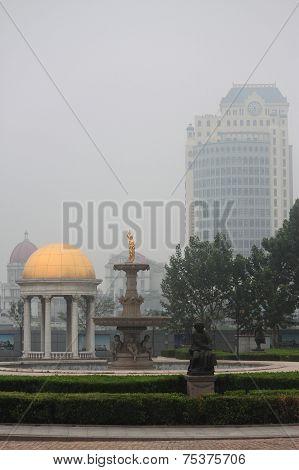 interesting square in Tianjin