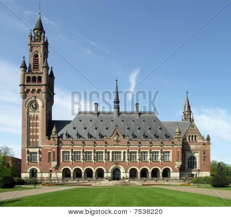 International Court of Justice. The Hague, the Netherlands