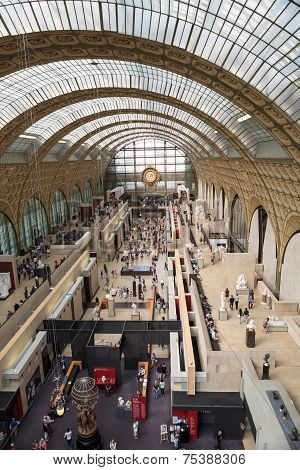 the museum D'Orsay in Paris France