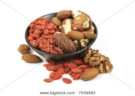 Goji Berries And Nuts