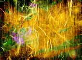Colorful abstract messy background. Digitally generated image. poster