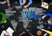Group of Multiethnic People Discussing Business Global Issues poster
