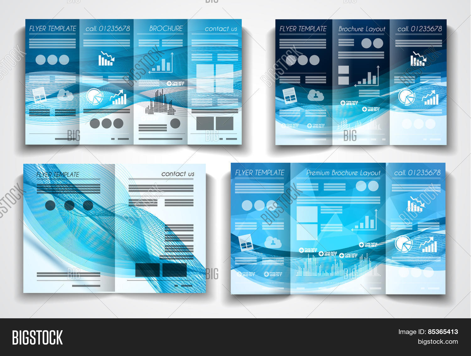 vector tri fold vector photo free trial bigstock