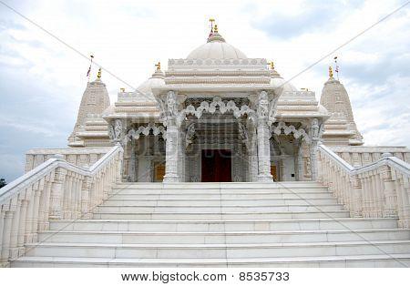 White Hindu Temple