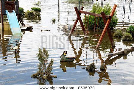 Flood On Playground