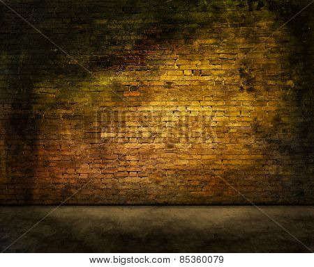 Mysterious Brick Wall
