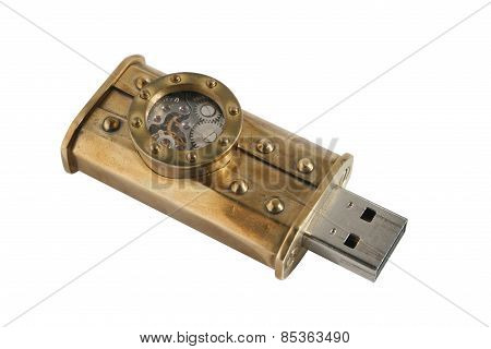 Steampunk Usb Flash Drive