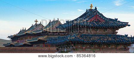 Erdene Zu Buddhist monastery