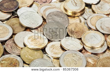 Old Dirty European Coins