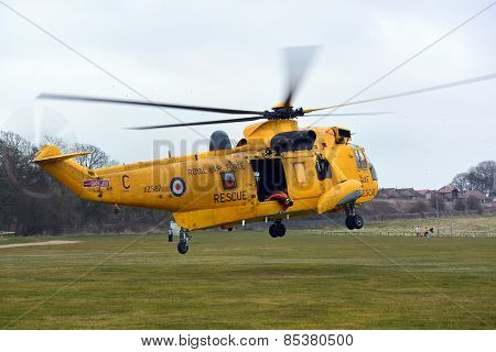 RAF Search and Rescue helicopter