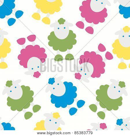 Lamb Kids Pattern