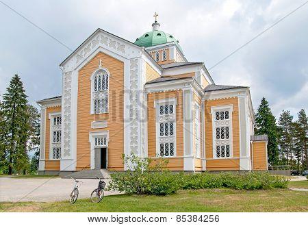 Kerimaki. Finland. Wooden church