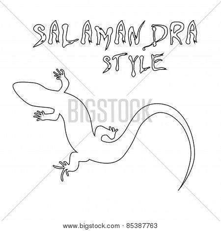 Monochrome Lizard