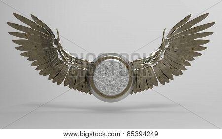 Wings and Medallion