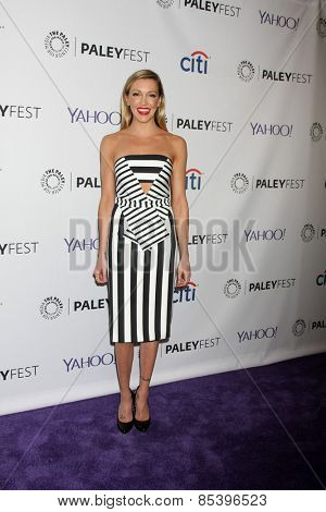 LOS ANGELES - MAR 14:  Katie Cassidy at the PaleyFEST LA 2015 -
