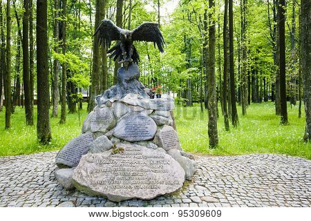 Monument To Partisans In Zakopane