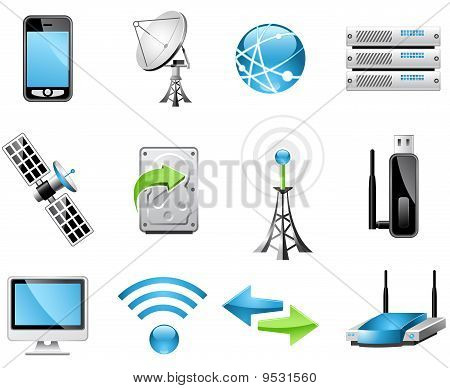 Wireless Technology icons