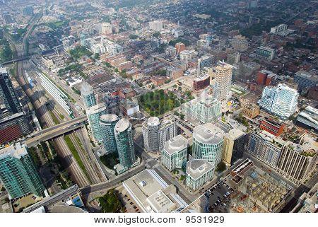 Skyline View Of Toronto, Ontario, Canada