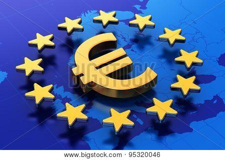 European Union financial concept