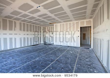 New Drywall Garage