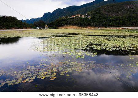 An Hai lake in Con Dao island, Vietnam