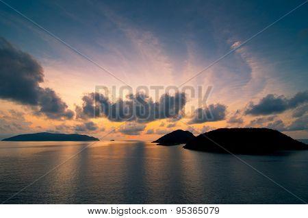 Sunrise in Condao island, Vietnam